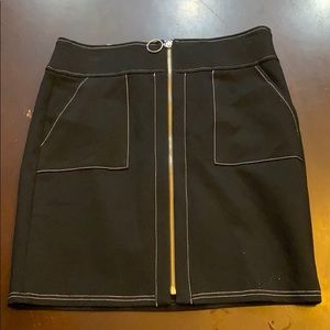 INC Black Pencil Skirt Size Small